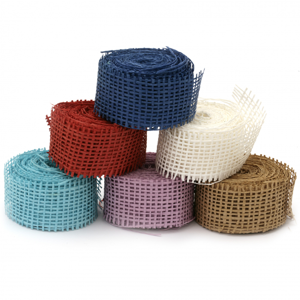 Base for application paper tape 3.2x450 cm assorted colors