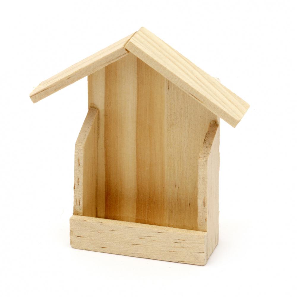Casа din lemn mini 70x20x72 mm