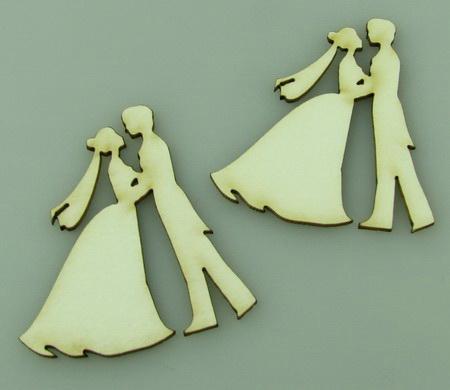 Tinerii căsătoriți din carton de bere 50x45x1 mm -2 bucăți