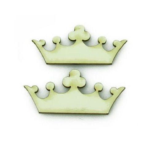 Coroană de carton de bere 22x50x1 mm -2 bucăți