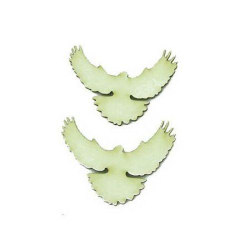 Porumbel din carton de bere 25x45x1 mm -2 bucăți