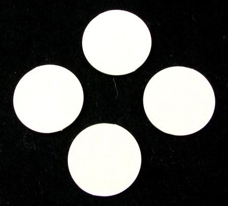Etichetă pentru un carton realizat din carton de bere - rotund 23 mm - 15 bucăți