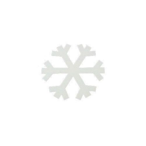 MDF Wooden decoration element snowflake 96 x 1 mm