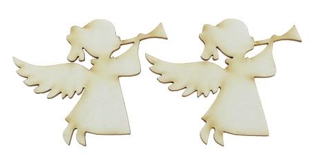 Înger din carton de bere 50x60x1 mm -2 buc