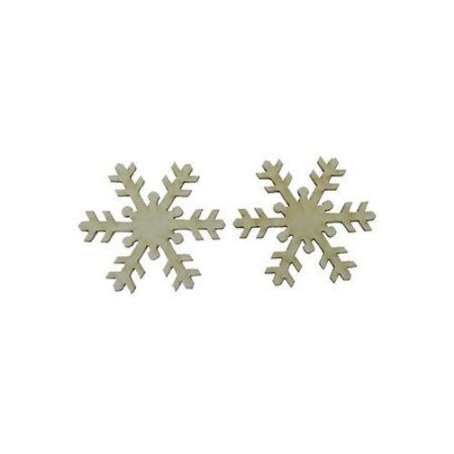 Fulg de zăpadă din carton de bere 50x1 mm -2 bucăți
