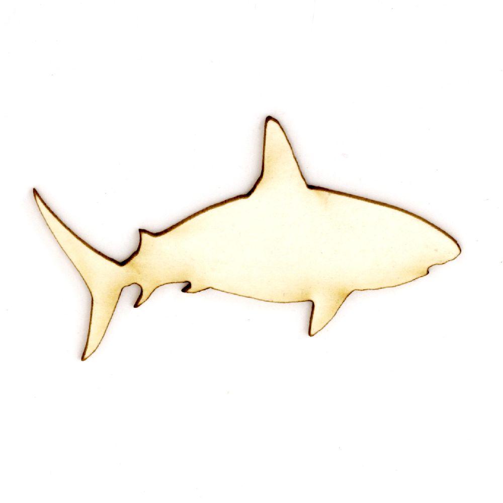 Καρχαρίας χαρτόνι Chipboard 25x48x1 mm -2 τεμάχια