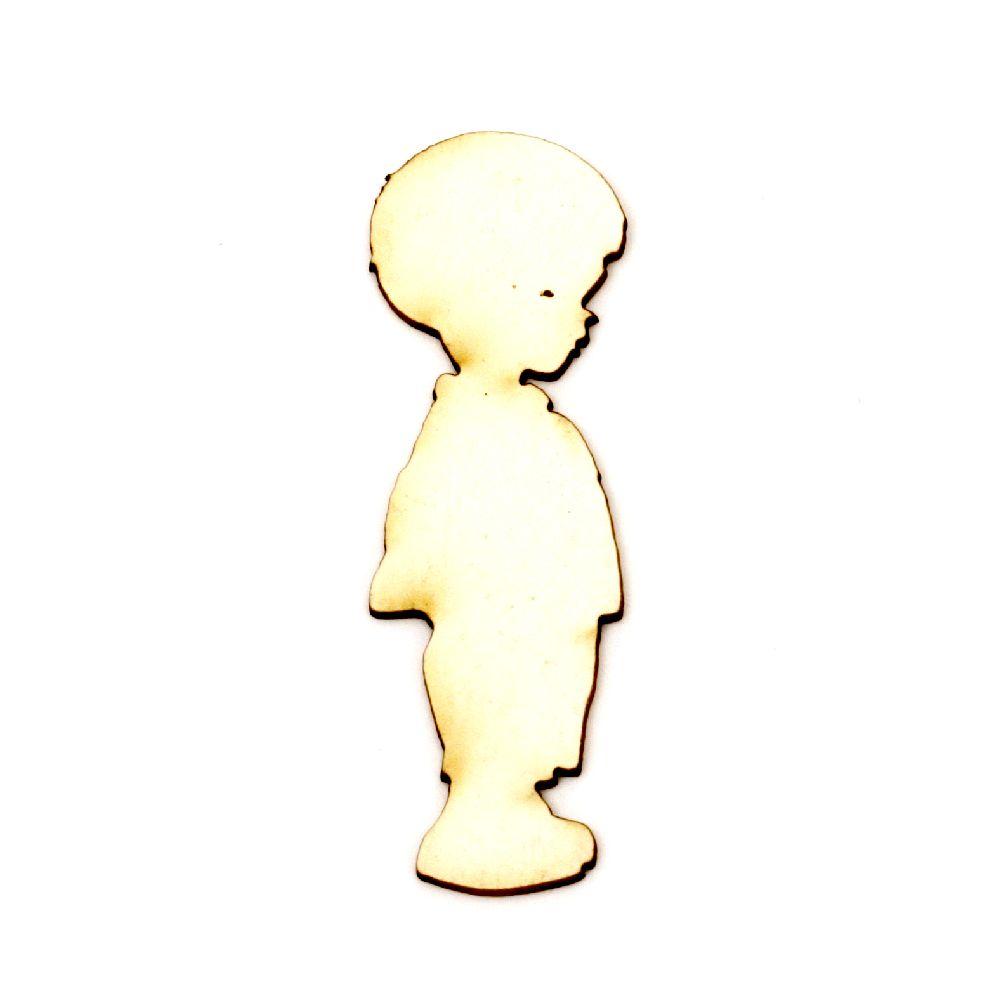 Αγόρι χαρτόνι Chipboard 60x20x1 mm -2 τεμάχια