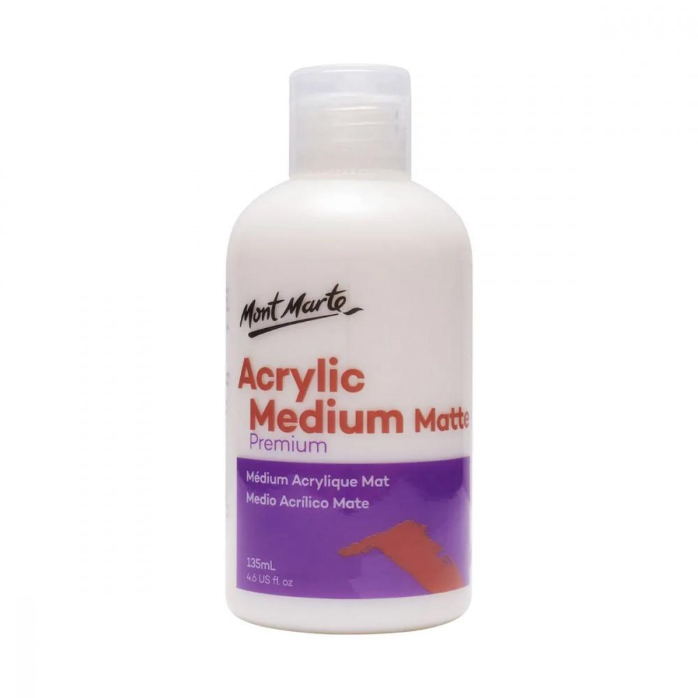 Mont Marte Acrylic Medium Matt -135 ml.