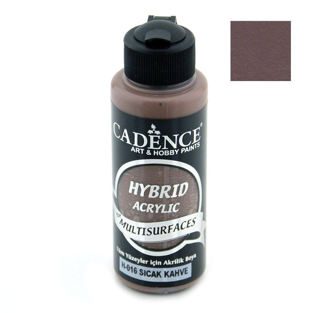 CADENCE HYBRID Ακρυλικό χρώμα 120 ml - WARM BROWN H-016