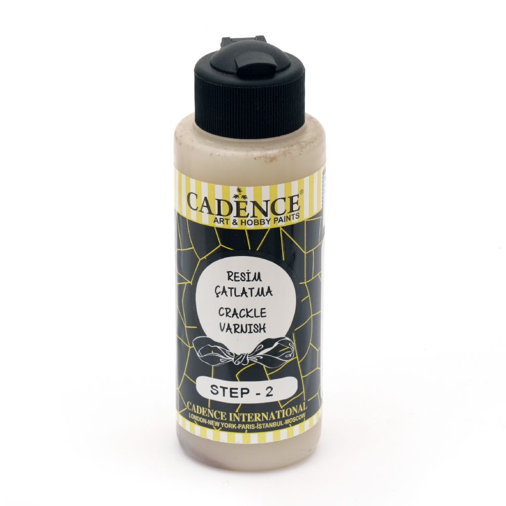 STEP TWO Crackle Effect, Cadence Mosaic/Eggs120 ml - step №2