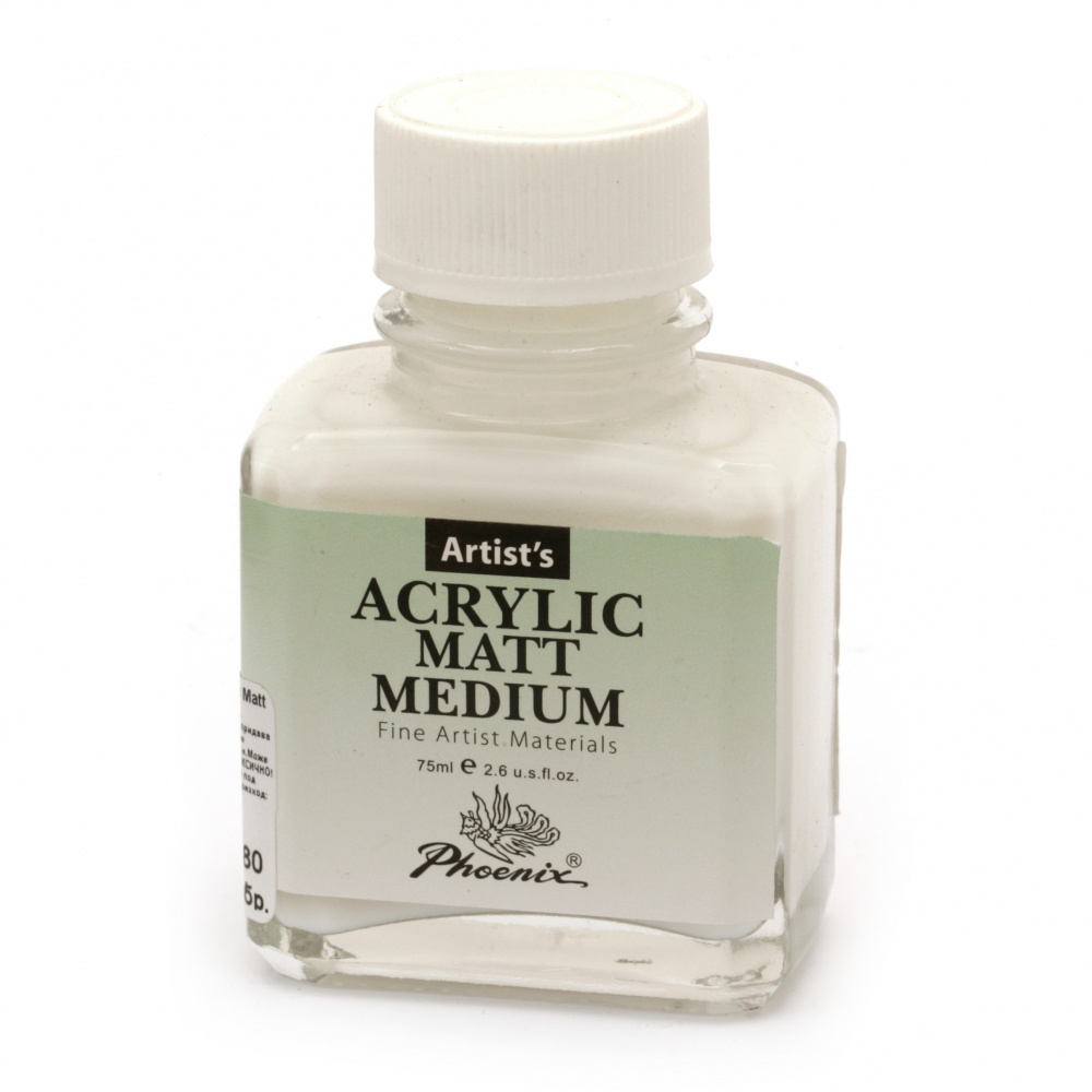 Mediu acrilic PHOENIX Mediu acrilic mat 75 ml