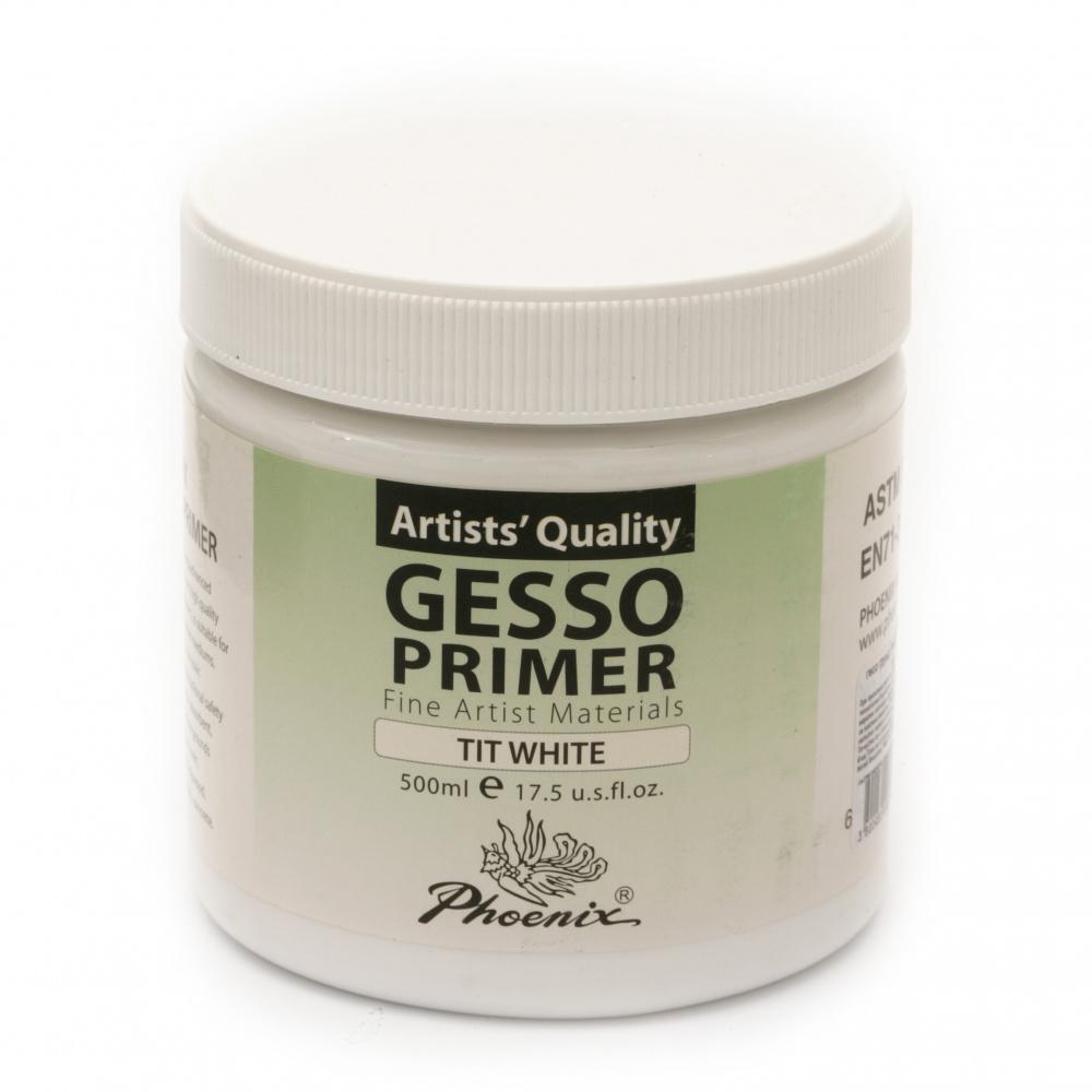 Geso primer PHOENIX Gesso Primer 500 ml - Tit White