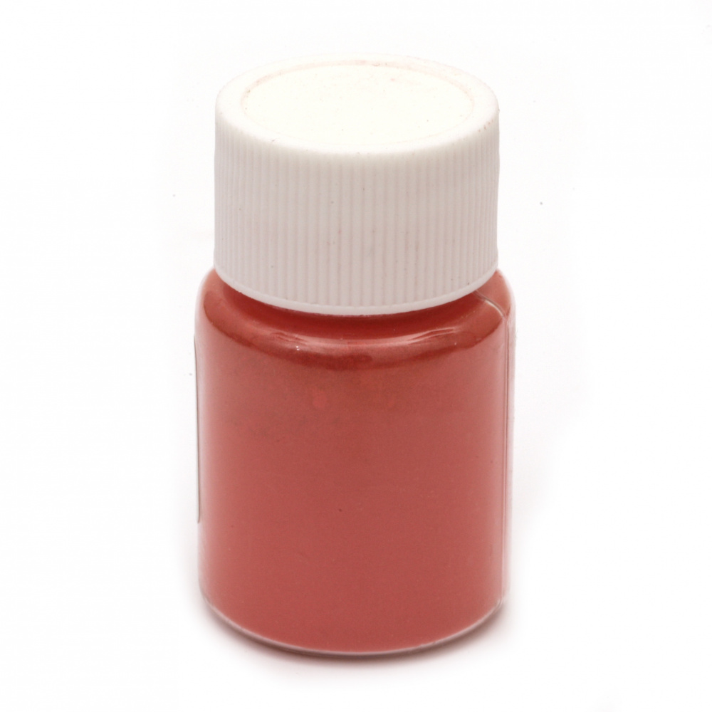 Оцветител за смола перлен пудра 25 мл в бурканче- червен