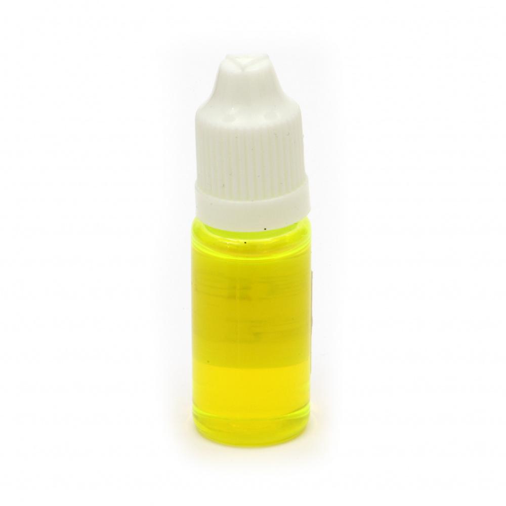 Оцветител за смола прозрачен 10 мл - жълт