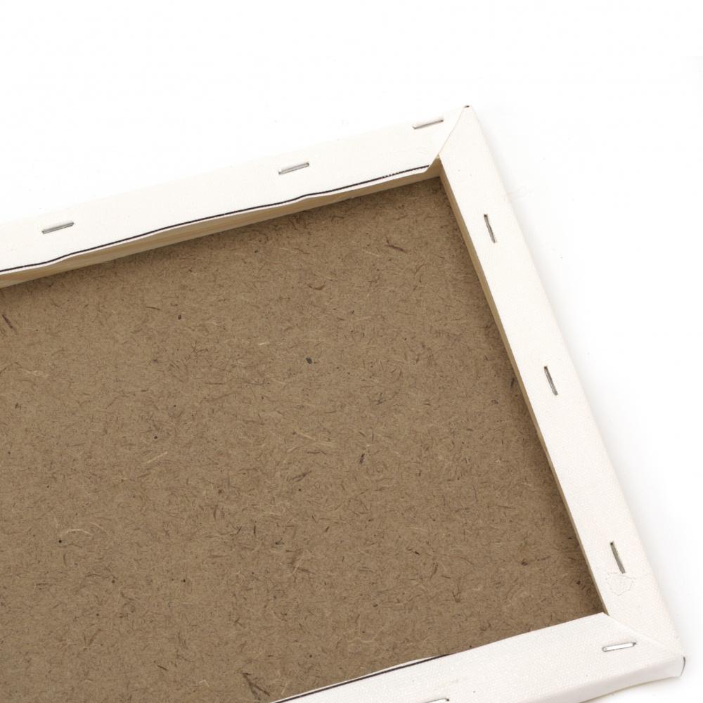 Диамантен гоблен 40x50 см кръгли диаманти пълно облепяне с рамка - Ваза със слънчогледи YSG0684