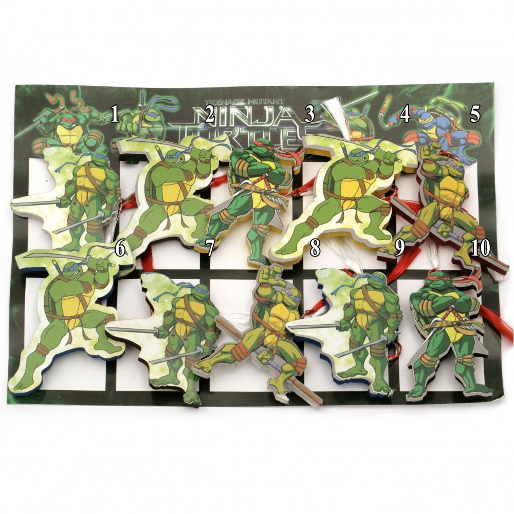 Martisoare Testoasele Ninja - diferite personaje
