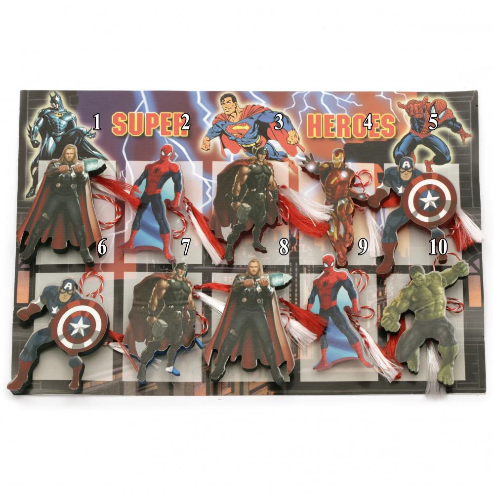 Martisoare cu toți eroii Răzbunătorii