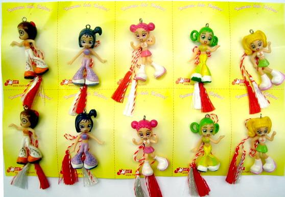 Μαρτάκι κορίτσι - 10 τεμάχια