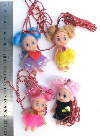 Мартеници гердан с кукла 10 броя