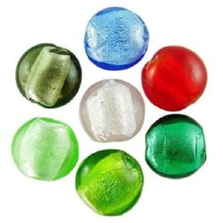 Coloured glass beads 20 mm - MIX