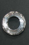 Висулка кристал шайба 30x7 мм дупка 16 мм