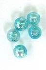 Мънисто дъга топче 8 мм резеда -50 грама