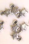 Висулка метализе звезда 6 мм -50 грама