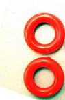 Inel de 25 mm roșu -50 grame-29 buc