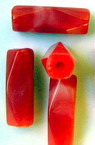 Pila  cilindrică 22x7 mm roșu -50 grame