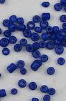 Γυάλινες χάντρες  seed πάχους 2 mm σκούρο μπλε -50 γραμμάρια