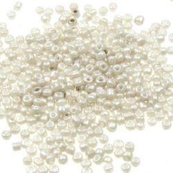 Γυάλινες χάντρες seed 2 mm Ceylon 1121 -50 γραμμάρια