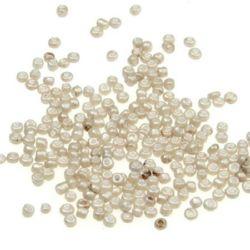 Мъниста стъклена 2 мм цейлон 1122 -50 грама