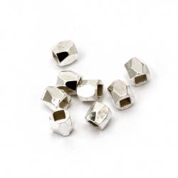 Element de legătură cu funda de titan 15mm argint