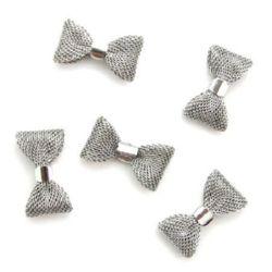 Titanium stringing ribbon 15x27 mm silver
