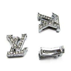 Cristale metalice forma  LV 10 mm găuri 8mm