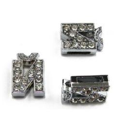 Scrisoare pentru înșirarea cristalelor metalice gaură J 8 mm