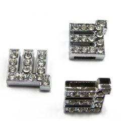 Scrisoare pentru înșirarea cristalelor metalice Sh hole 8 mm