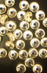 Margele cerc metalic 6x3 mm culoare argintiu -50 grame