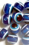 Топче око 10 мм дупка 2 мм синьо -50 броя