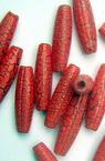 Cilindru fisurat  19 mm roșu -50 grame