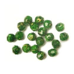 Plastic beads jewellery making 8 mm