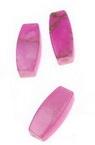 Мънисто златна нишка продълговато 11x5 мм розово светло -20 грама