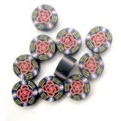 Model  monedă Fimo monedă 1 mm 2 -10 bucăți