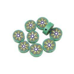 Χάντρα φίμο 10 mm 35 -10 τεμάχια
