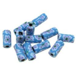 Κύλινδρος χάντρα φίμο 5x10 mm 9 -20 τεμάχια