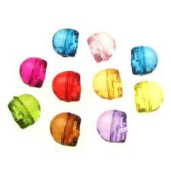 Craniu de cristal 10 mm culoare transparentă -50 grame