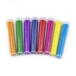 Топчета стъклени 0.4-0.6 мм декоративни в кутия цилиндър цвят АСОРТЕ -10 грама