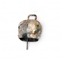 Metal forged farm bell  53x47x29 mm №4