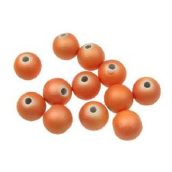 Топче 8 мм дупка 2 мм спрей оранжево -20 грама
