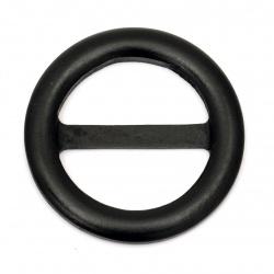 Ξύλινη τόκα 75x7 mm, 49x22 mm μαύρο χρώμα